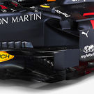 Red Bull RB16 - barge board detail