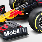 Red Bull RB16 - nose cone detail