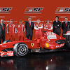 Ferrari launch team