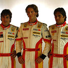 Renault F1 team drivers