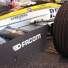 Front wing end plate