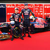 Toro Rosso drivers at launch