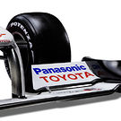 Toyota TF109 front wing