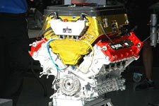 IRL Honda engine 2008