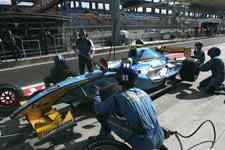 GP2 pitstop