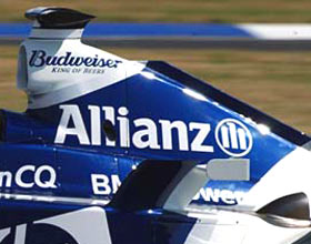 A new fin on the back of Williams