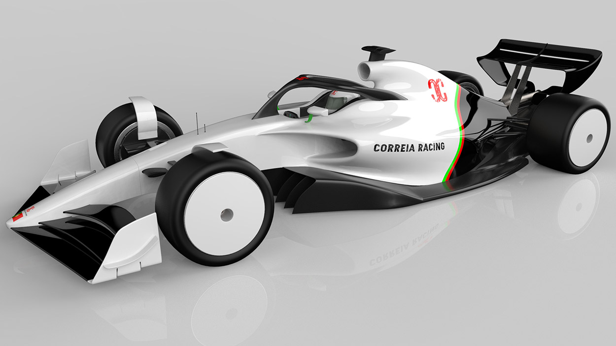 Correia Racing F1 car design