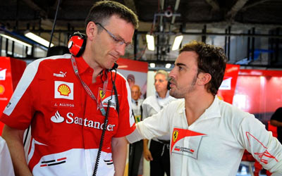 James Allison parts ways with Ferrari