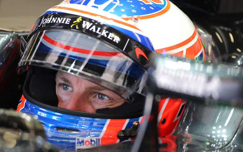 Button gets McLaren points as software issue stops Alonso