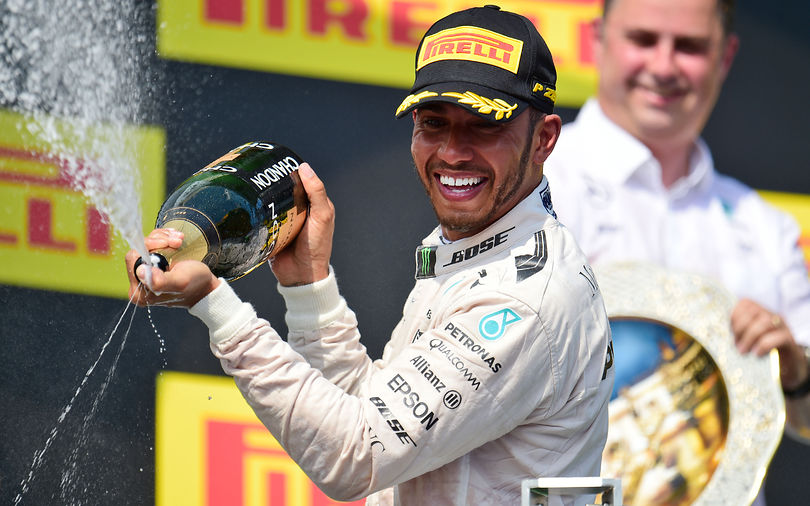 Hamilton takes championship lead with Hungarian GP win