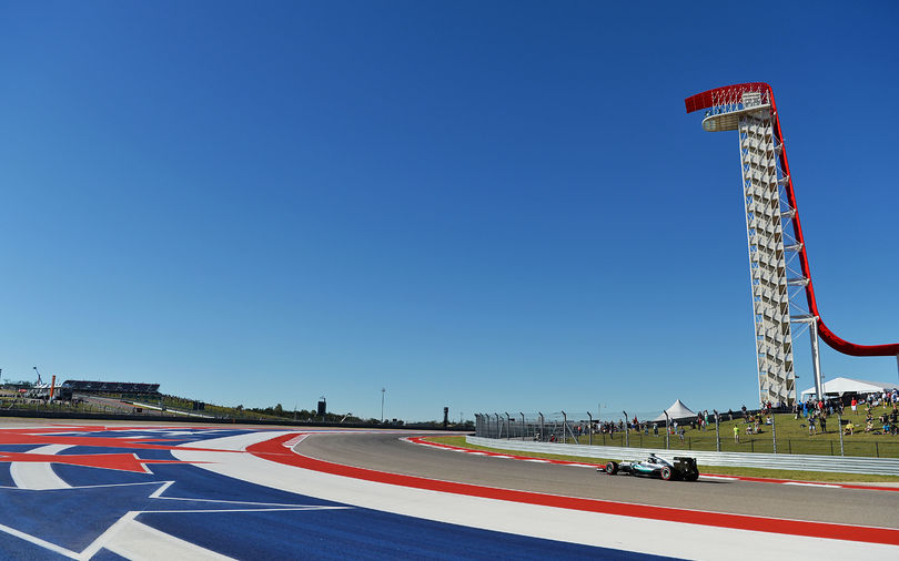Hamilton fastest in opening session at Austin