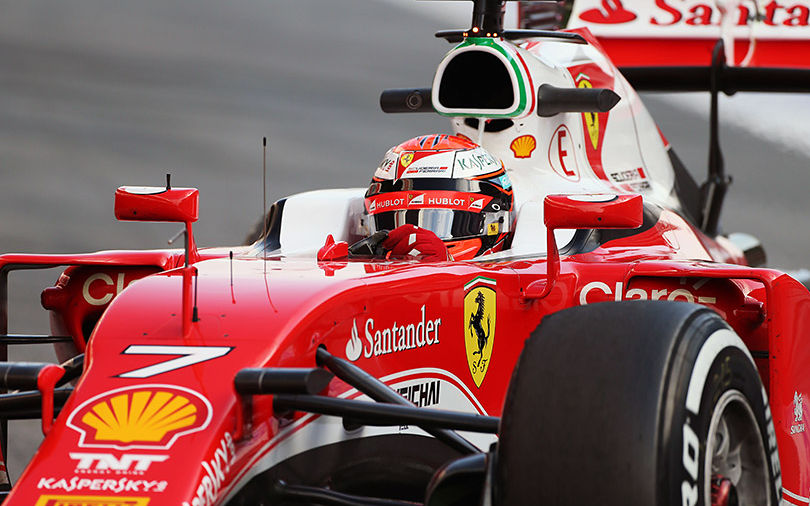 Ferrari salvaged the weekend after a disappointing qualifying