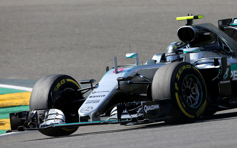 Rosberg seizes pole position for Belgian Grand Prix