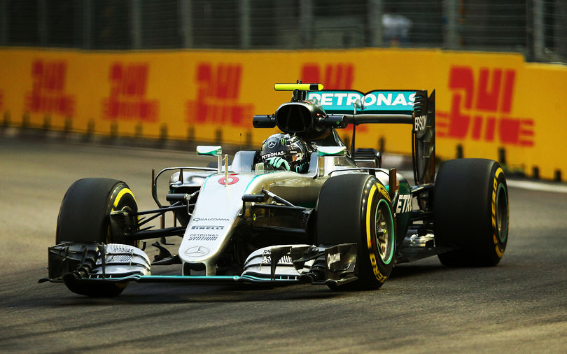 Rosberg wins Singapore Grand Prix