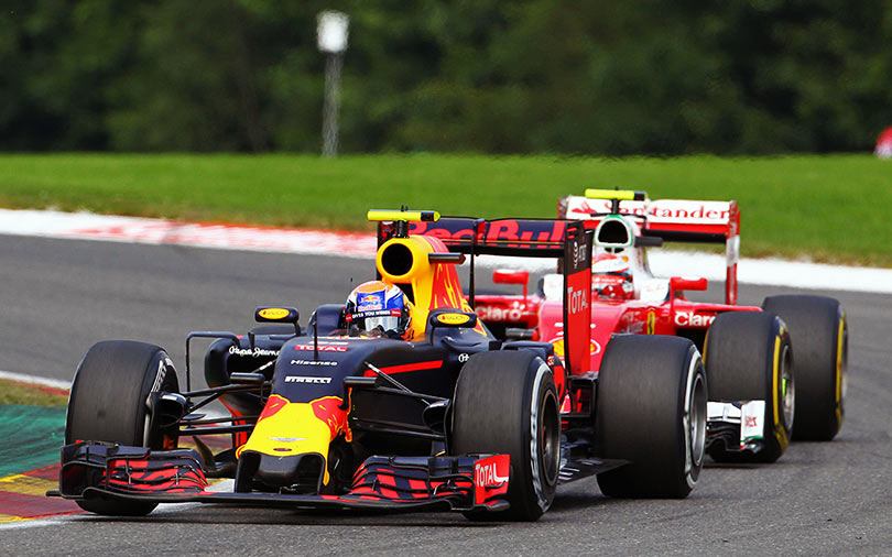 I'd rather drive them off the track - Verstappen