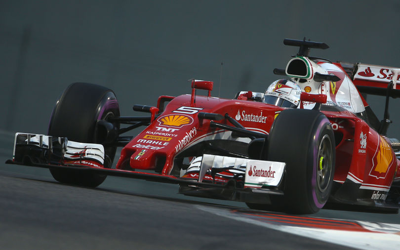 Vettel tops final practice at Abu Dhabi