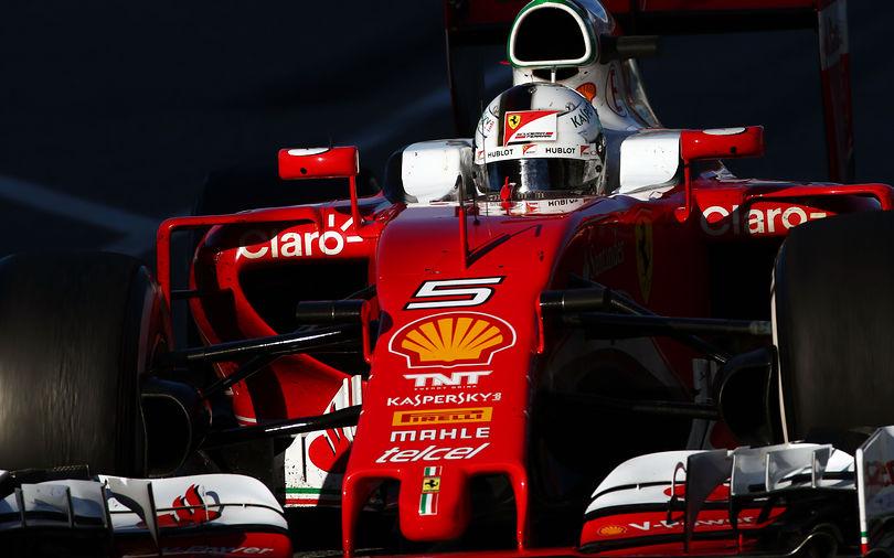 Ferrari drivers in aggressive mood in Singapore