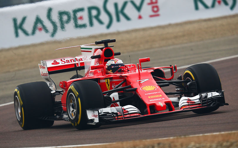 Ferrari duo happy with the SF70H's track debut
