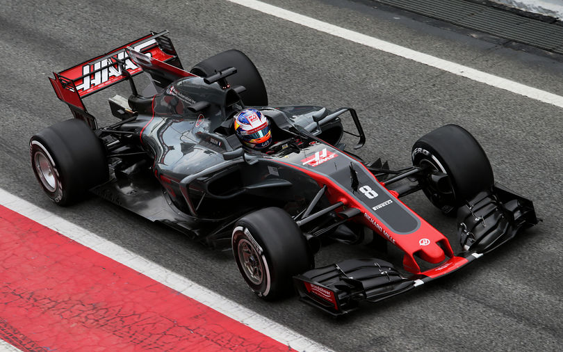 Grosjean secures best ever starting position for Haas