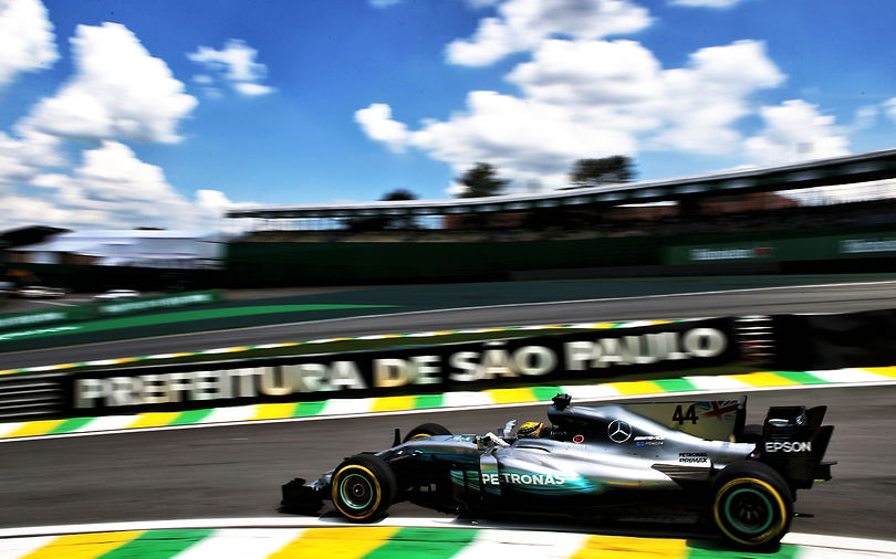Hamilton stays ahead in Brazilian FP2