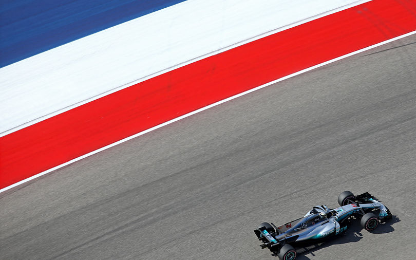 Hamilton stays ahead, competition closes in