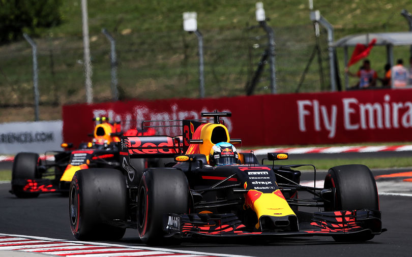 Ricciardo heads first practice at Hungary