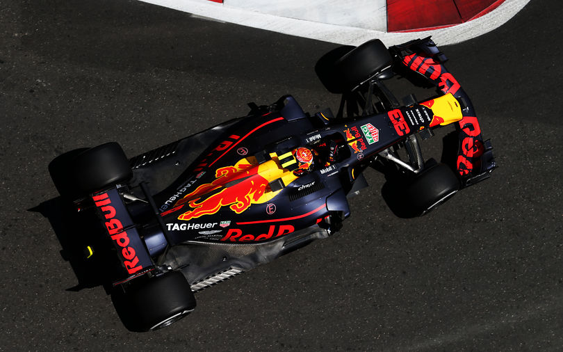 Verstappen tops closely fought second practice