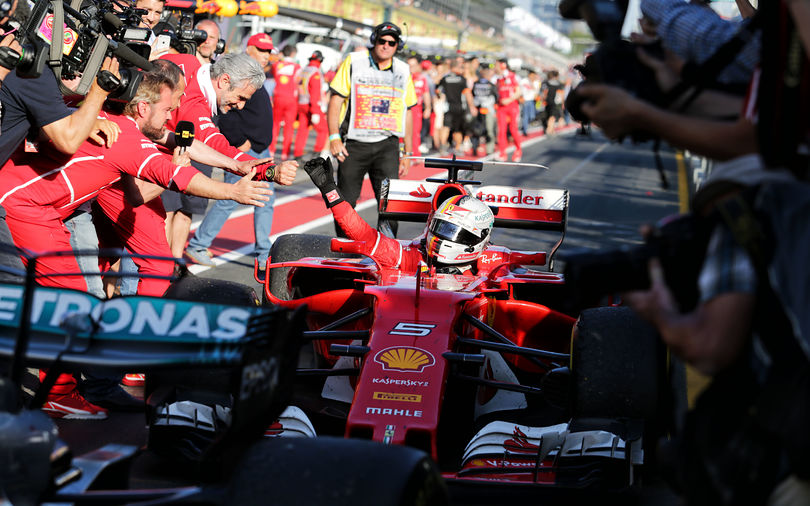 Vettel takes Australian GP victory for Ferrari