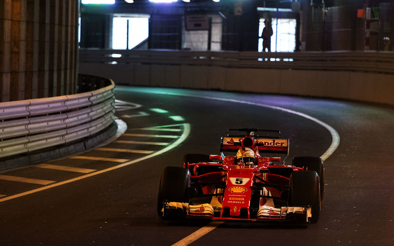 Vettel tops FP2 while Mercedes gets set-up wrong