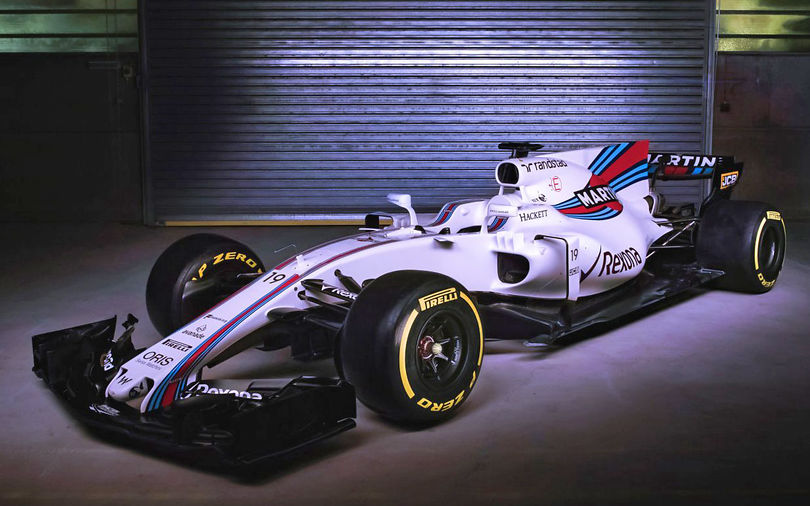 Williams celebrates 40 years with unveiling of FW40 car