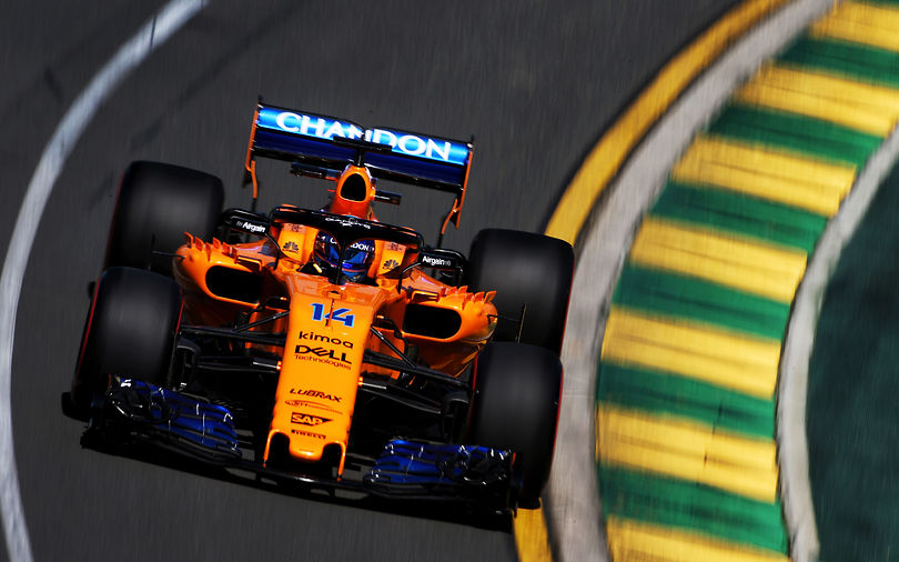 Alonso relieved with McLaren's car performance