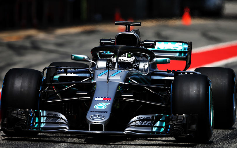 Bottas fastest as Barcelona test comes to an end