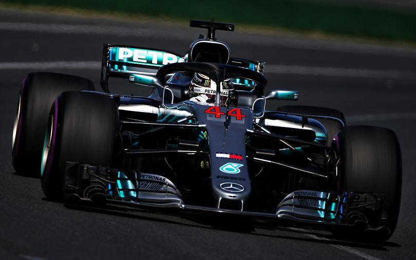 Mercedes take the lead in first Australian practice