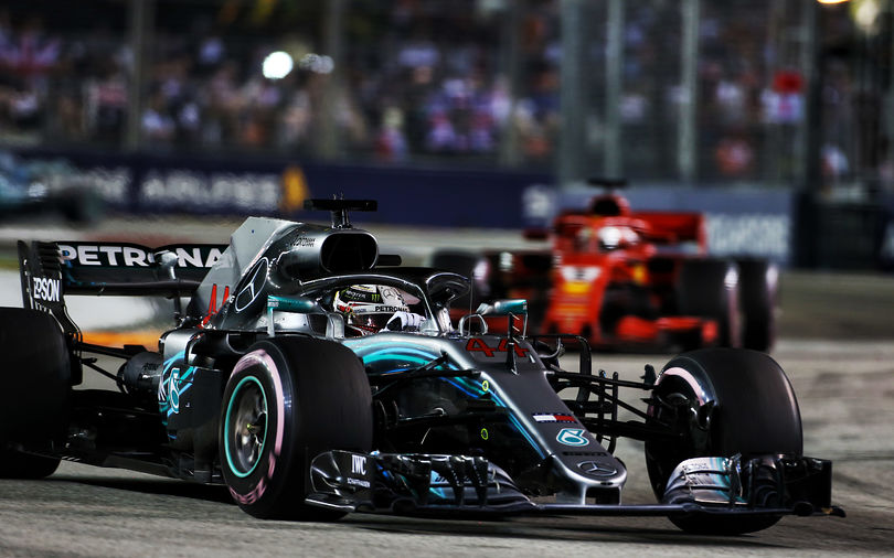 Hamilton extends championship lead with Singapore GP win