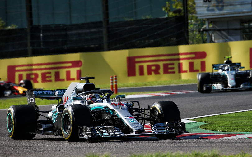 Hamilton dominates Japanese GP to take victory