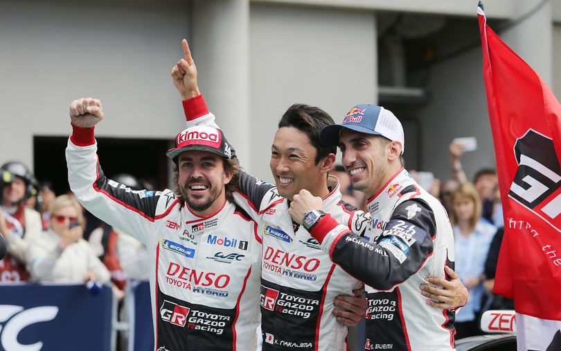 Le Mans 24: Alonso, Buemi and Nakajima win with Toyota