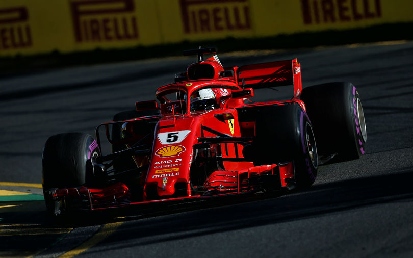 Ferrari tops wet-dry third Melbourne practice session