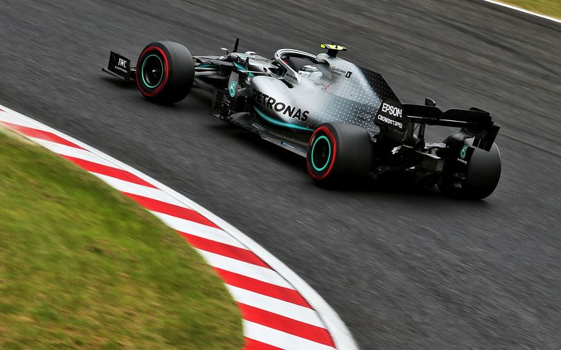 FP1: Bottas and Mercedes comfortably ahead in Japan