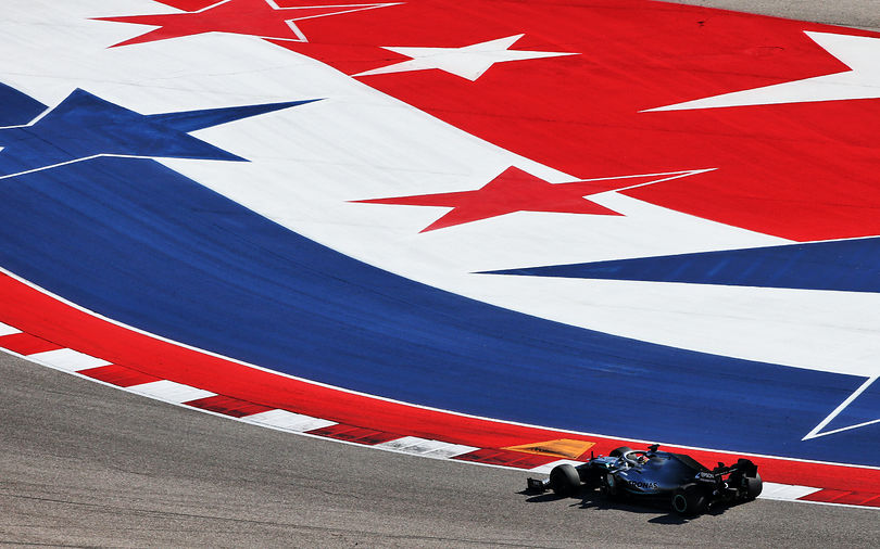 FP2: Hamilton fastest on Friday at COTA