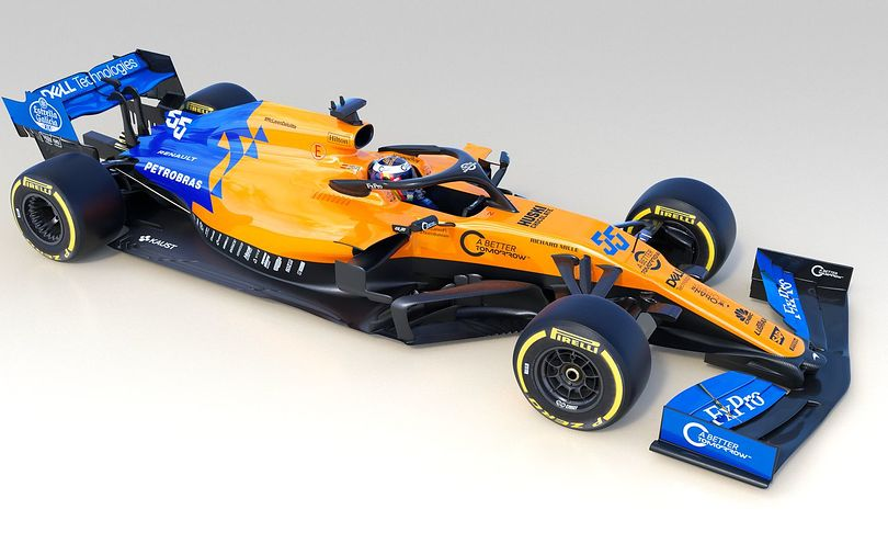 McLaren pulls the covers off its MCL34