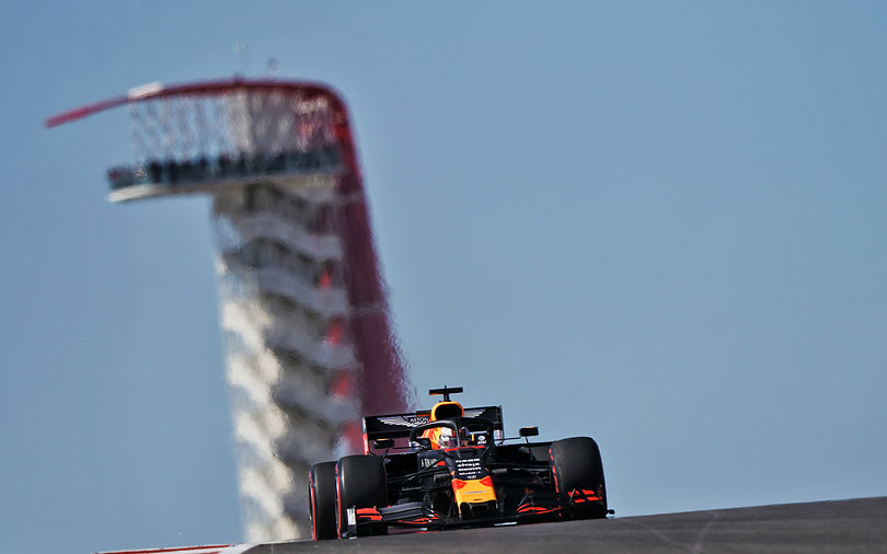 FP1: Verstappen sets early pace at Austin