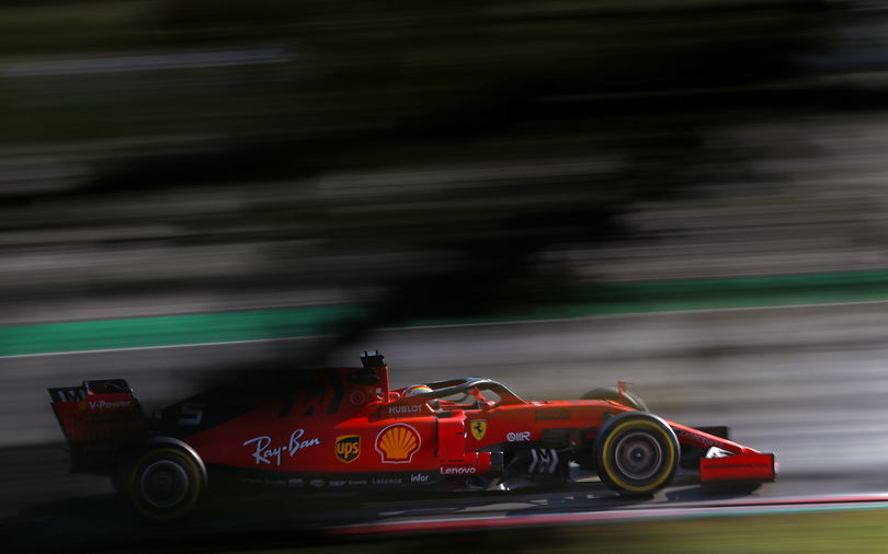 Ferrari makes changes to its structure