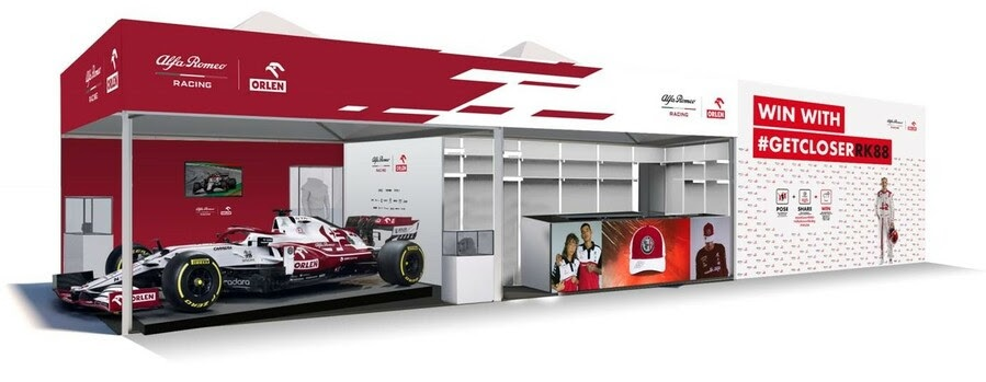 Alfa Romeo to welcome fans in a race booth in Budapest, F1 Daily