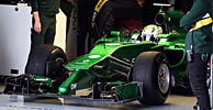 Caterham CT05 launch analysis