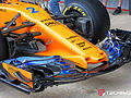 McLaren surprises with unique nose cone