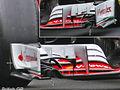 Ferrari tweaks front wing