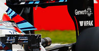 Williams low-drag rear wing for Monza