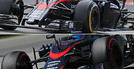 McLaren relieved to get data on short nose