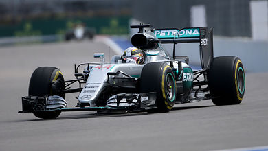 Hamilton fastest as Vettel hits trouble