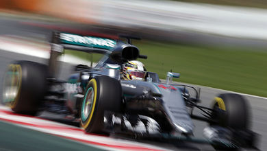 Hamilton with a wealth of engine components